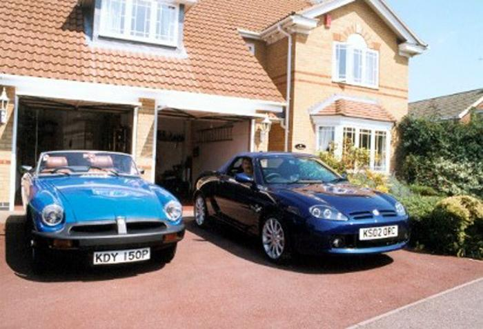 Any colour as long as it's Blue...For a brief period I was able to keep two MGs in the garage at home!
