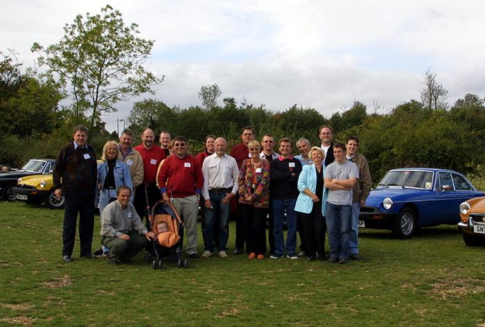 BBS contributors vist MGOC Swavesey in early October 2004