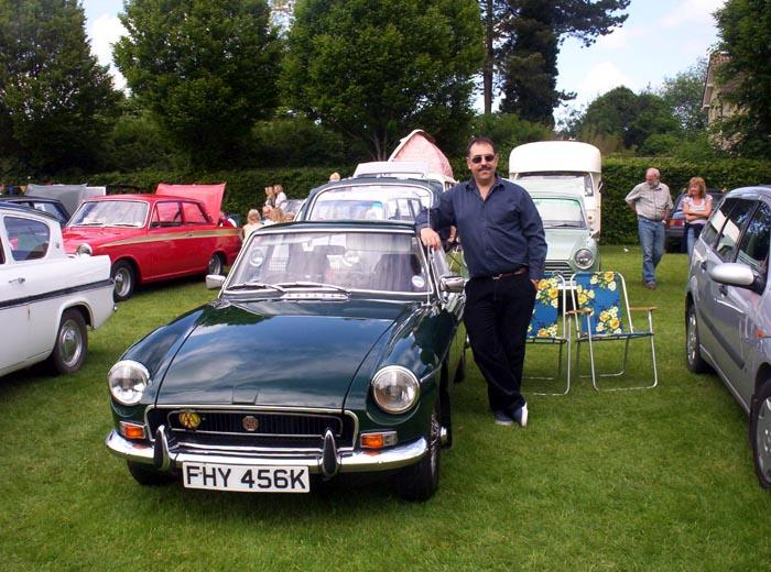 My first classic show, a good day out.