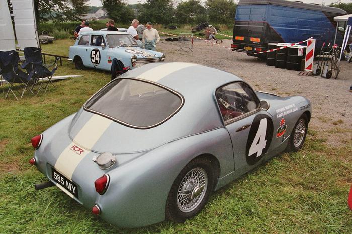 Chimay Historicar 2005 - speedwell sprite at rest