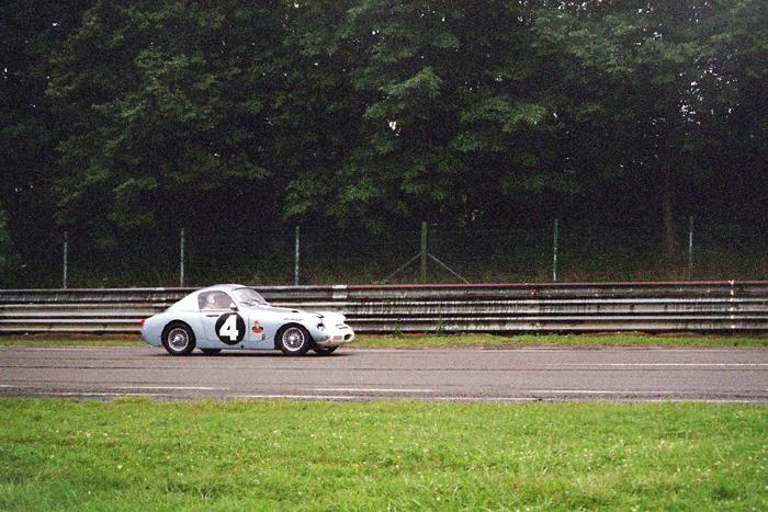 Chimay Historicar 2005 - speedwell sprite at the races/2