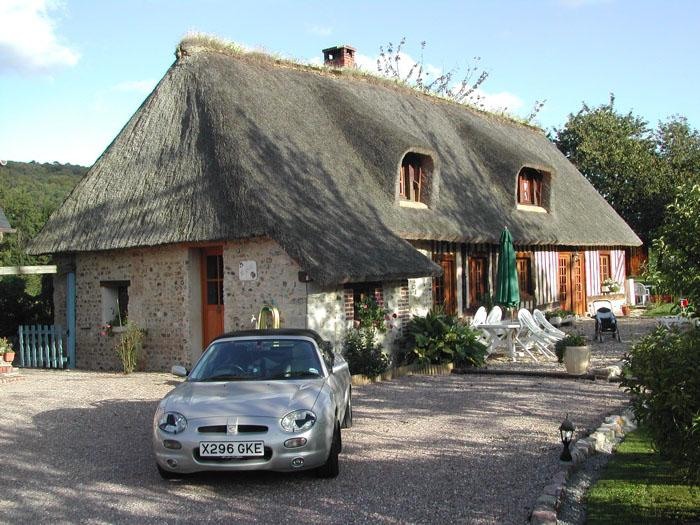 One of our B & B's whilst touring Normandy and Brittany.