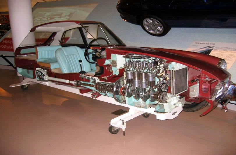 MGB GT on display at the Heritage Motor Museum, Gaydon