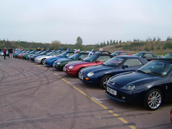 Now where did I park my MGF?
