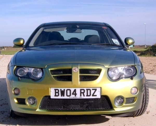 This is my MG ZT 260 SE.