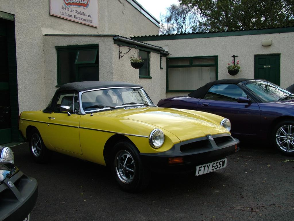 Totally original 30,000 mile MGB Every MOT even came with all orginal handbook and welcome pack Purchased by me Nov 05 looking forward to the summer and showing her off.