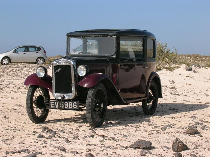 I know it isn't an MG, but it is a relative. Seen on a beach in Fuertaventura, Canary Isles.