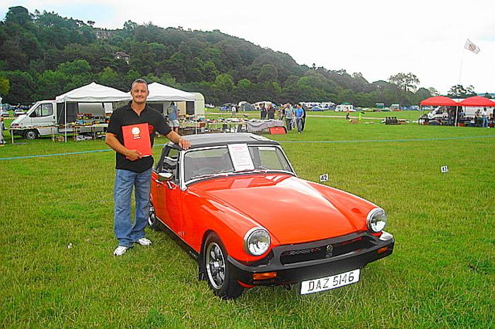 Harrogate MG 2006MGOC Northern National MG Midget Rubber Bumper 1st in Class