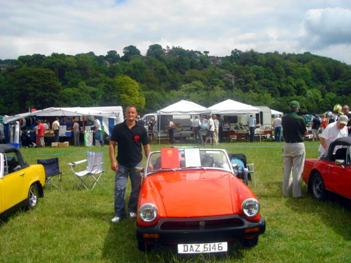 Harrogate MG Show.Awarded Best MG Midget in Show