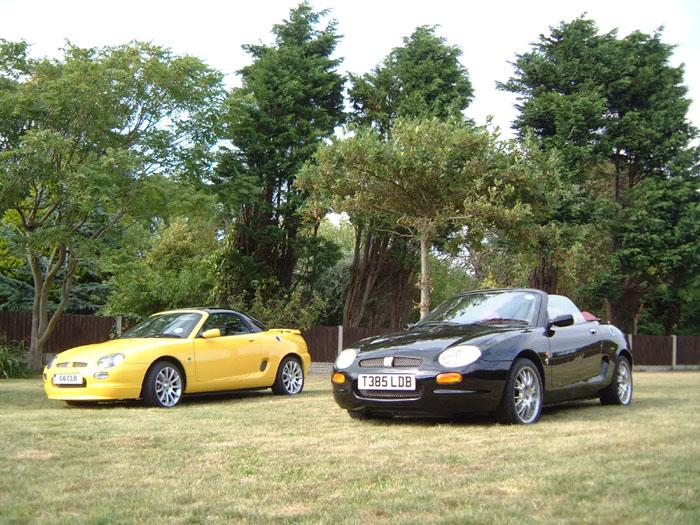 MGF Trophy 160and MGF 75th AnniversaryBathed In Sunshine