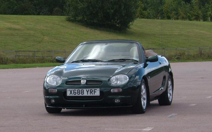 Kim Getting use to my MGF again!