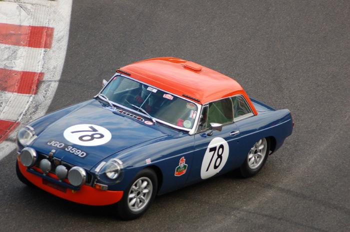 Six Hour endurance race - Roger Cope's car