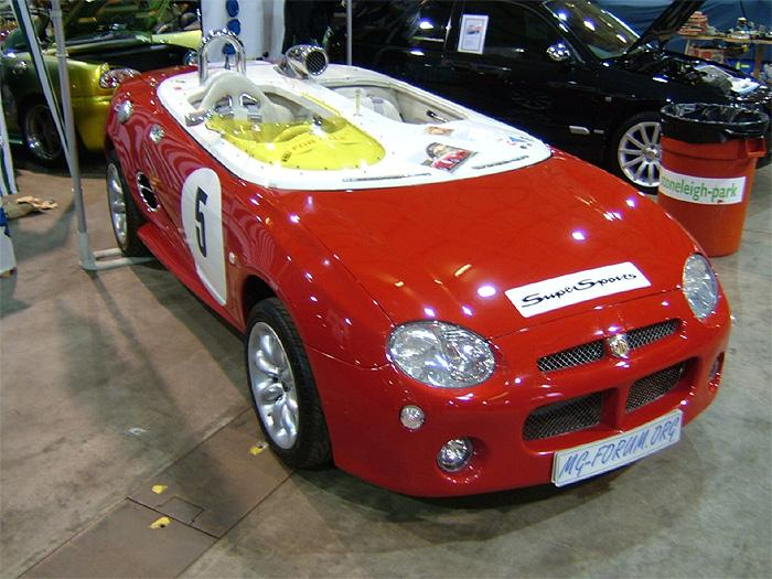 MGF SuperSport on the MGF Forum stand at Stoneleighwww.mgf-forum.com