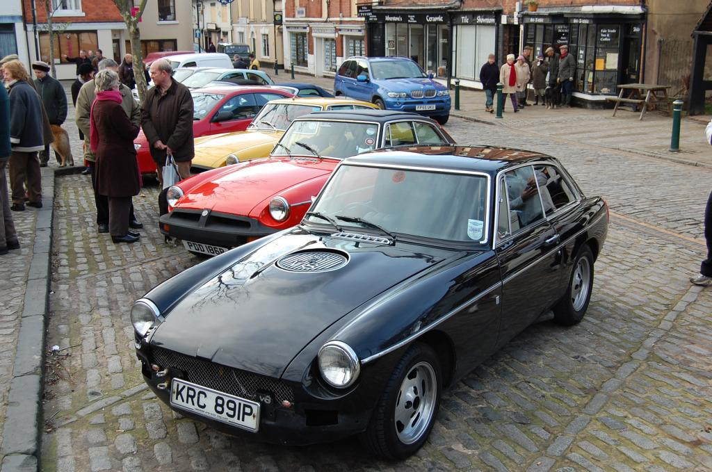 A very powerfull BGT at the Atherstone meet on 01/01/07