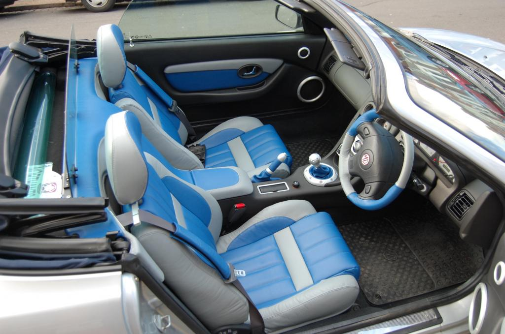 New all leather trim in a 03 TF135 fitted 01/03/07.