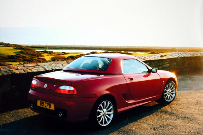My TF at Criccieth in Wales.