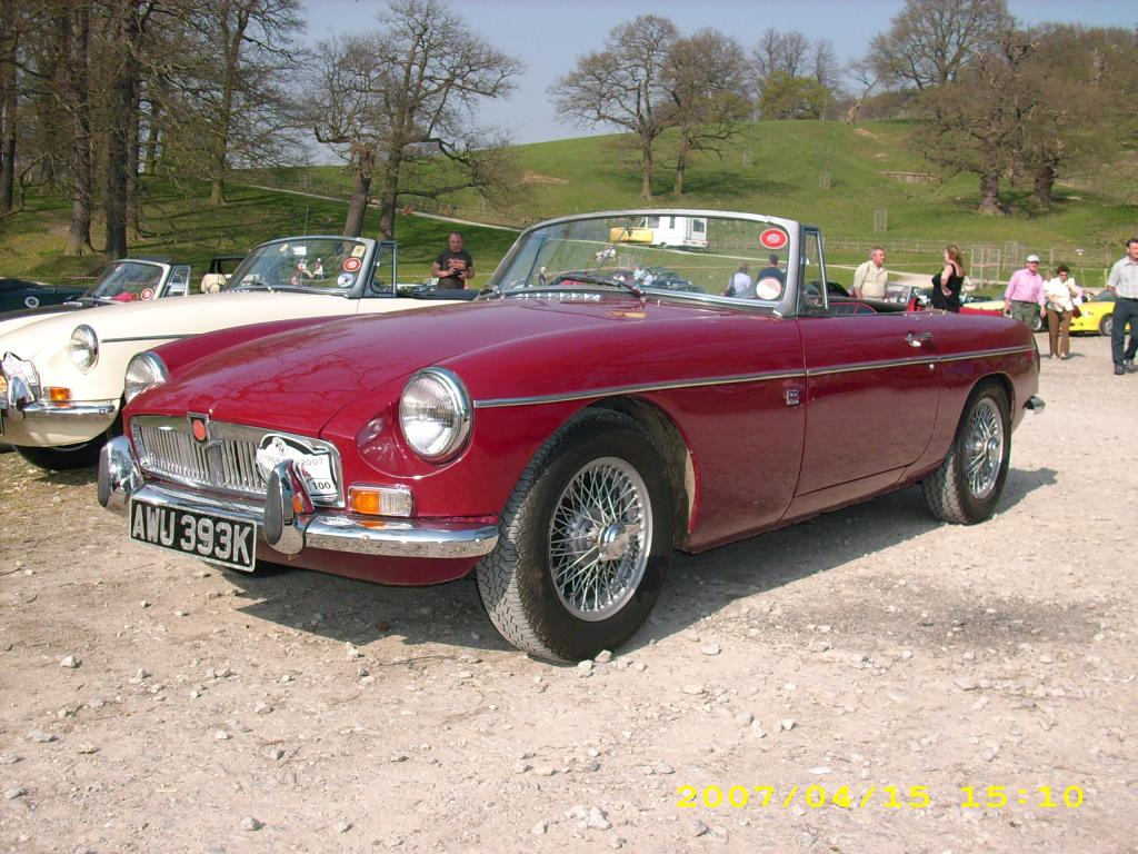 A good day out at 2007 Kimber Run, in our MGB