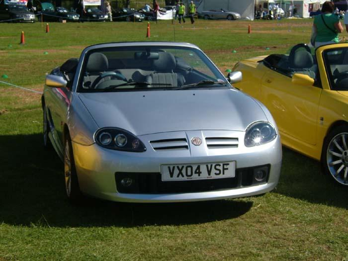 My new MGTF at MGFest07 in Northampton