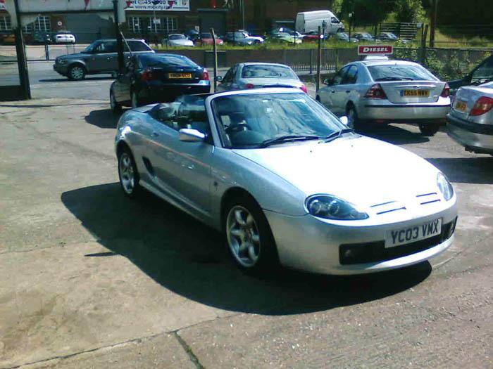 This is my first MG and its the best car ever!!I don't think I've done bad to say I'm only 20years old!!!