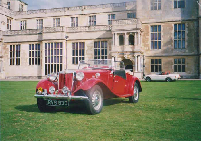MG TD 1951 export model. The car was brought back to the UK in 1992. Completely dismantled and rebuilt from chassis up. All the woodwork was renewed and filled with a new body tub. Resprayed in 2 pack paint in MG red. Engine was totally rebult.