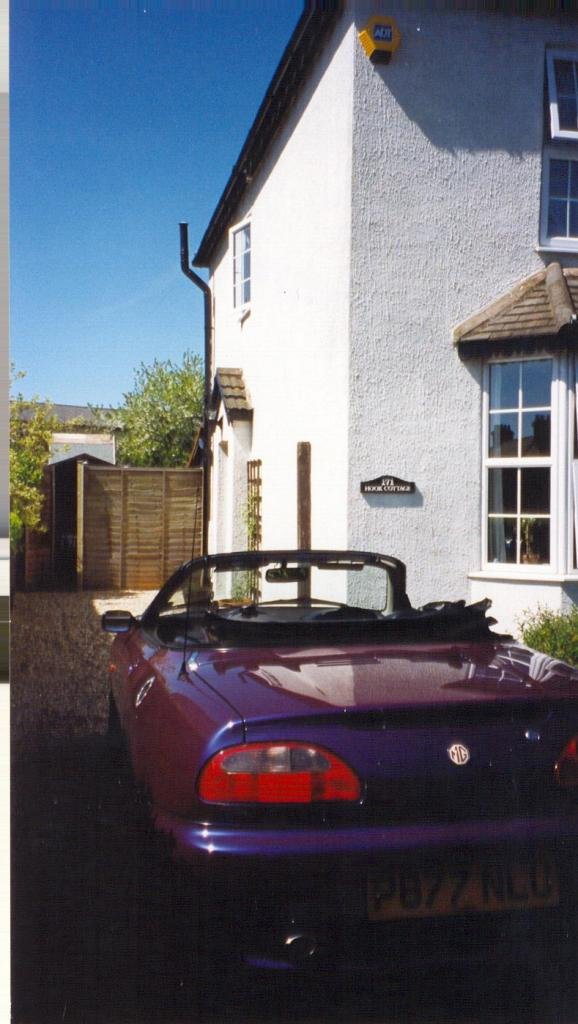 Bog standard MGF brought into the 21st Century