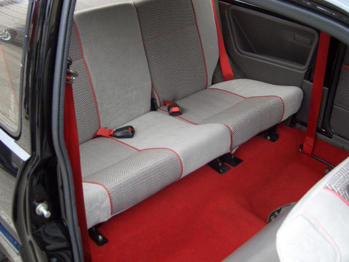 An interior picture of my MG Metro.