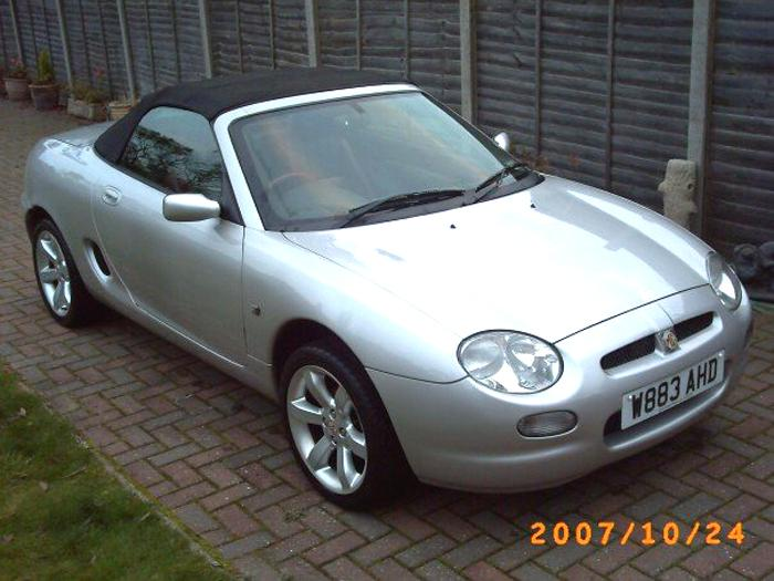 This is my beautiful MGF, Lydia-Scouse, after her 1st bath :)