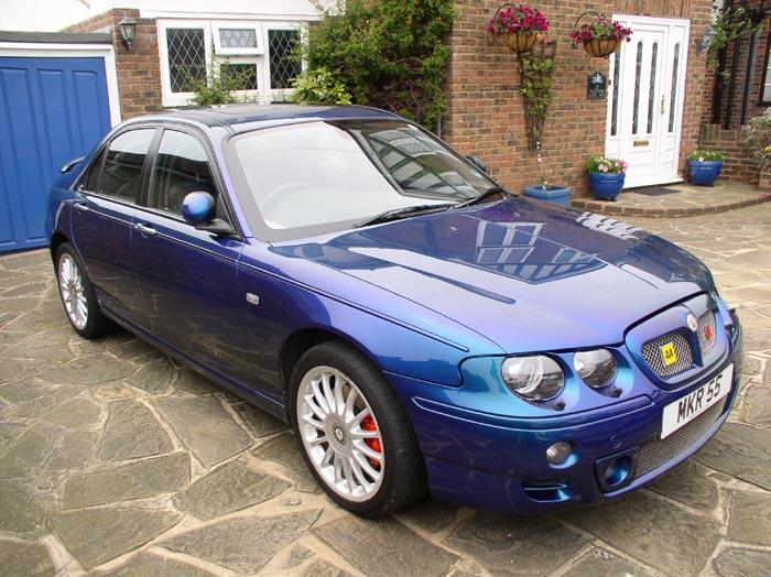 MG-ZT 190+ (2003) in Typhoon Chromactive - after its Spring clean!