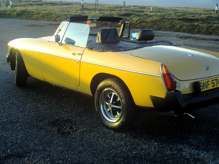Phil Browns 1977 MGB
