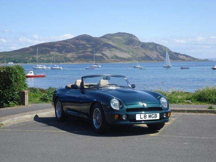 My RV8 on the Isle of Arran on a (rare) sunny day.
