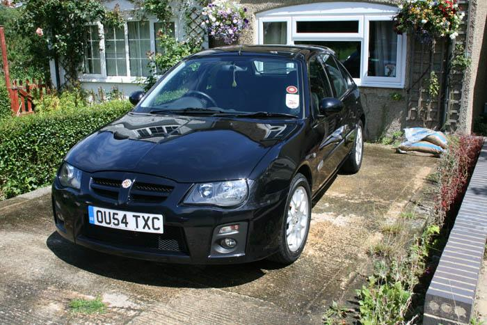 MG ZR 120+ finished in Pearl Black - a pleasure to drive.