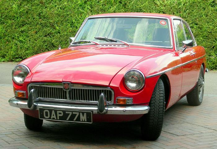 "Called the ""Red Witch"" by my wife. Just bought her and looking forward to happy motoring. Note: I am an OAP, in my 77th year and my initial is M."