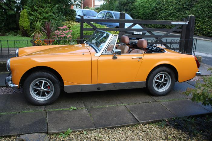 My first restoration aged 58 [THATS ME NOT THE CAR] and she was certainly worth waiting for.