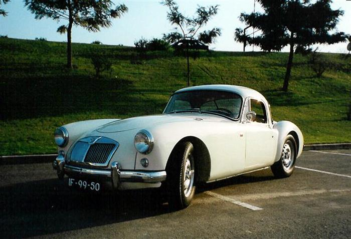 MG A Twin Cam Coupe YM3/1468