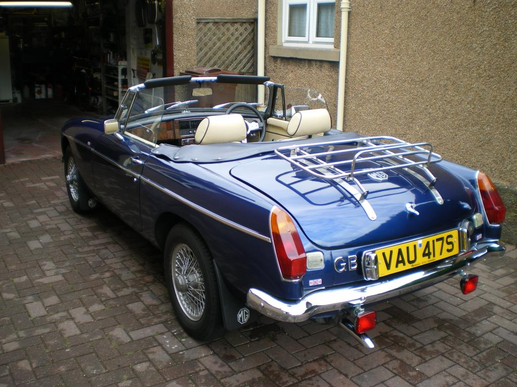 this is my 1977 roadster which i purchased 2 years ago and have improved to my own spec