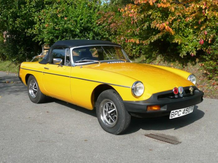 This is my first MG aquired from a family friend, I am the second owner from new, the car has done only 57.000 miles
