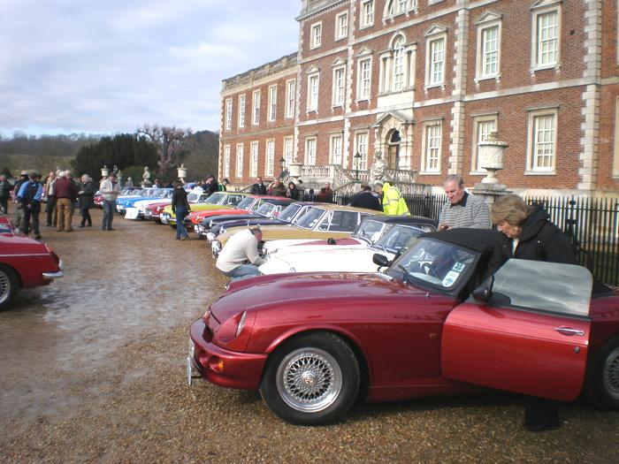 Snowdrop Run 2009 Wimpole Hall