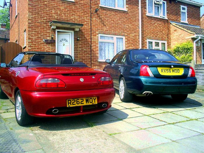 Tuned MGF VVC in fantastic mint nightfire red.