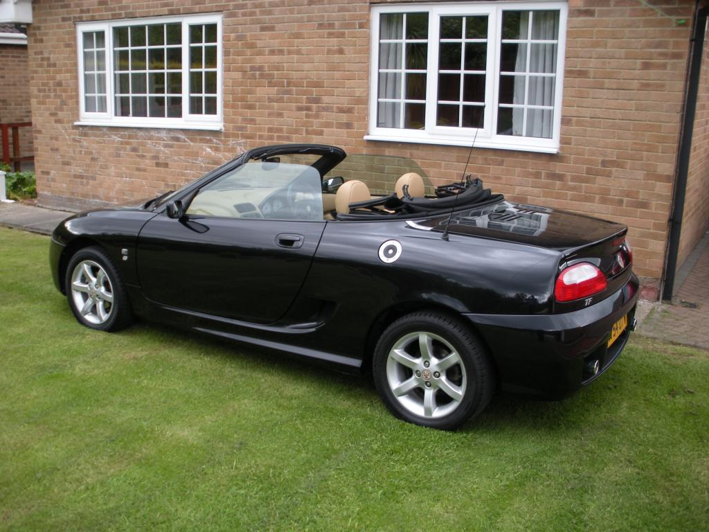 Just joined your club and bought this MG TF 135 with 10,000 miles and FSH. Looking forward to meeting some of you at club events.