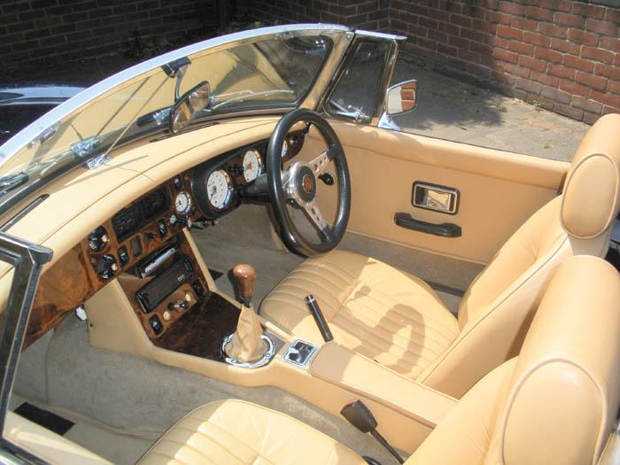 After much heart ache refitting the windscreen, the interior looking better than ever.