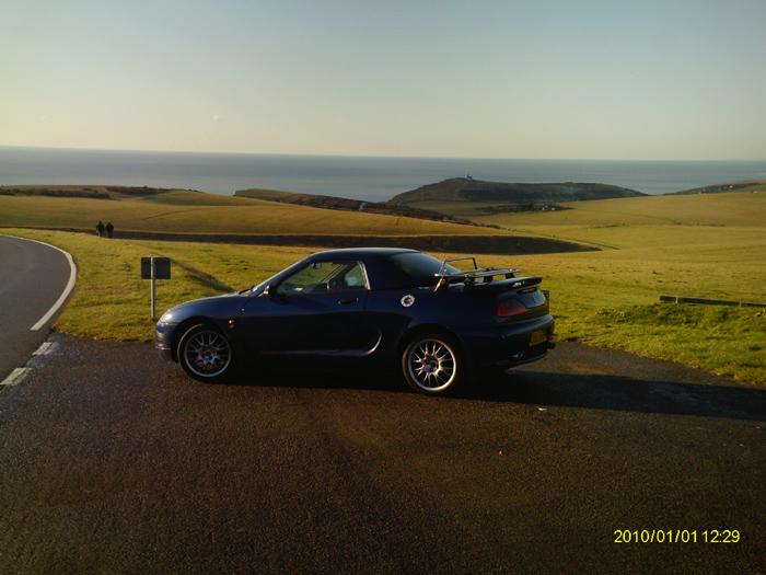 Beachy Head, Sussex. Blooming Freezing, but a lovely day for a drive.