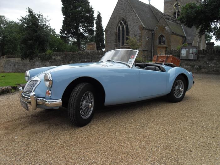 """Iris"" an MGA 1600 mk 1, UK car from 1969"