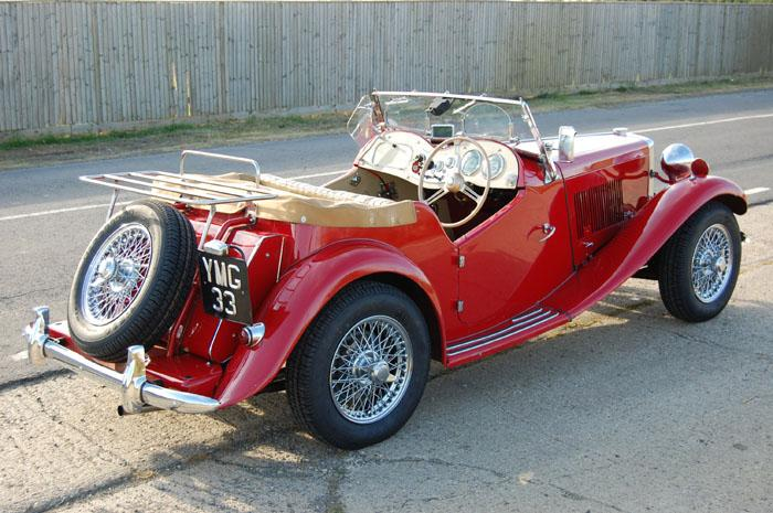 My MG TD with MG numberplate. In excellent condition but gradual upgrades being made.