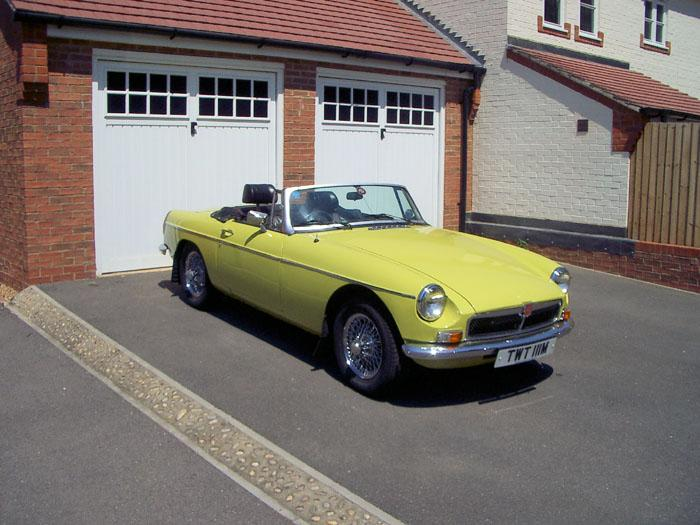 1974 Citron Yellow MGB