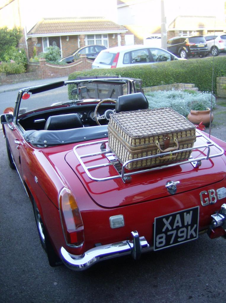 mg midget just love them here my one