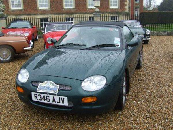 My MGF - Bev Wright