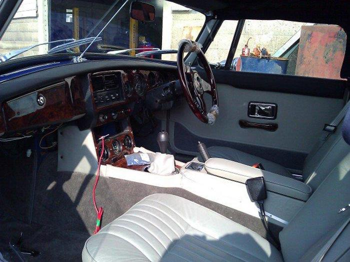 All new interior