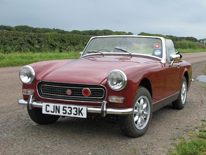 Always fancied an MG so sold my Morris Minor, and now have an MG Midget, love it !!