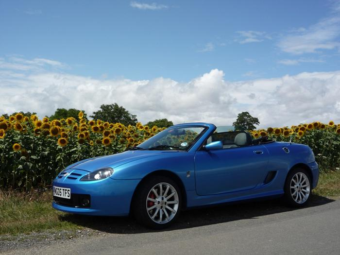 My TF 135 Spark SE on Holiday in France, July 2011.