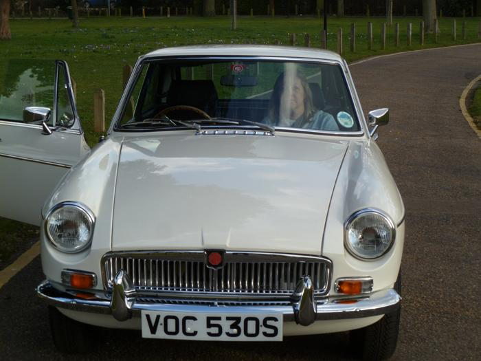 1978 chrome conversion  MGB GT